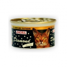 Amora Diamond Katze Huhn und Truthahn (Csirke és pulyka) 85g