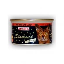 Amora Diamond Katze Rind und Leber (Marha és máj) 85g
