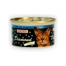 Amora Diamond Katze Thun und Ozeanfisch (Tonhal és tengeri hal) 85g