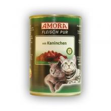 Amora Fleisch Pur Katze Kaninchen (Nyúlhússal) 400g
