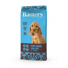 Visán Banters Dog Puppy & Junior Lamb & Rice (3 kg)