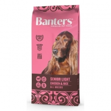 Visán Banters Dog Senior Light Chicken & Rice (15 kg)
