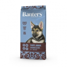 Visán Banters Dog Puppy & Junior Chicken & Rice (15 kg)