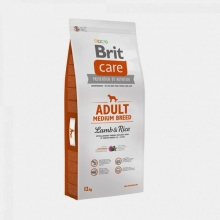 Brit Care Dog Adult Medium Breed Lamb & Rice (12 kg)