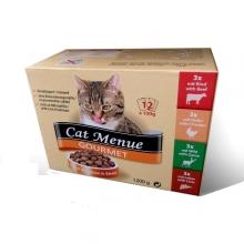 Cat Menue Gourmet 12db-os alutasak box (12 x 100g)
