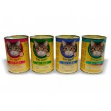 Cat Menü Macskakonzerv vegyes ízekben (Hal, Csirke, Marha, Máj) 415g