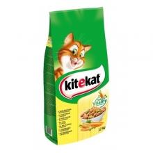 Kitekat macska eledel csirke és zöldség ízesítéssel (12 kg)