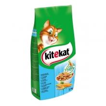 Kitekat macska eledel tonhallal és zöldséggel (12 kg)