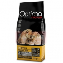 Visán Optimanova Cat Kitten kiscicáknak (2kg)